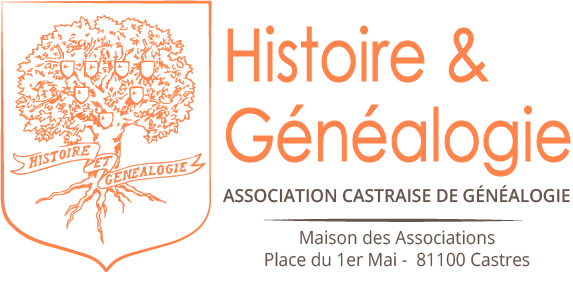 Logo de l'association Histoire et Généalogie