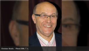 Photo du précédent Président Christian de l'association Moulis