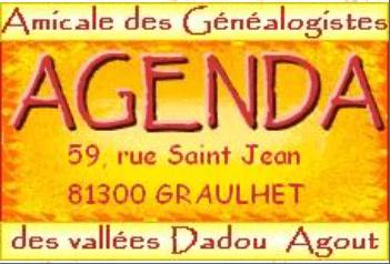 Logo Agenda généalogie Graulhet